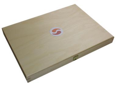 Rohrschachtel: Buchenholz, groß