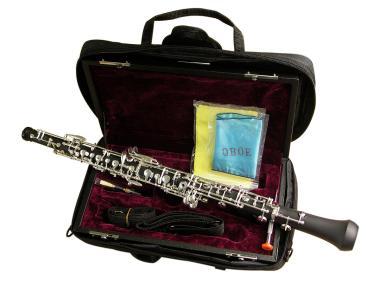 Oboe, Halbautomatik, Kunststoffkorpus, Profimodell