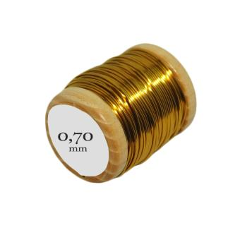 [Chiarugi] brass wire: Ø 0.7 mm, 50g