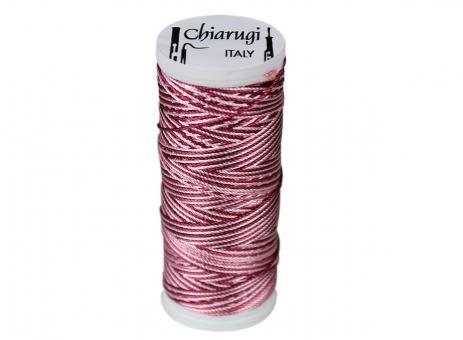 oboe reed thread: dark red + pink, 150 m