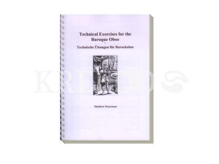 Technische Übungen für Barockoboe (deu./engl.)