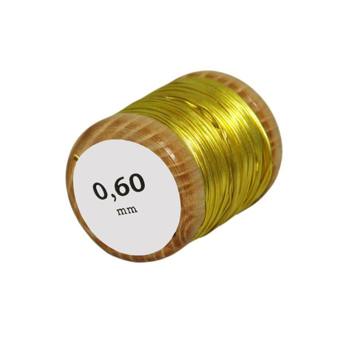 [Chiarugi] brass wire: Ø 0.6 mm, 50g