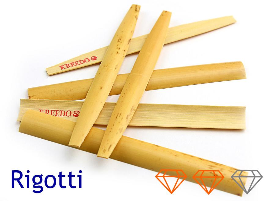 Hölzer oder Fassons für Oboe d'amore: Rigotti, mittelhart