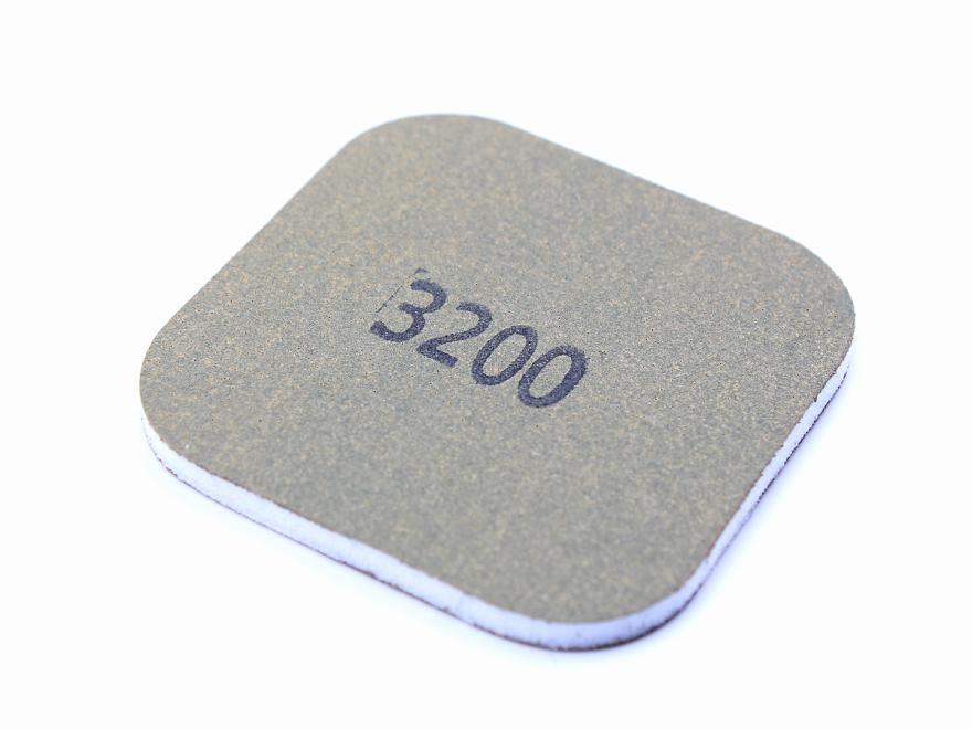 Schleifpapier-Pad: Körnung 3200