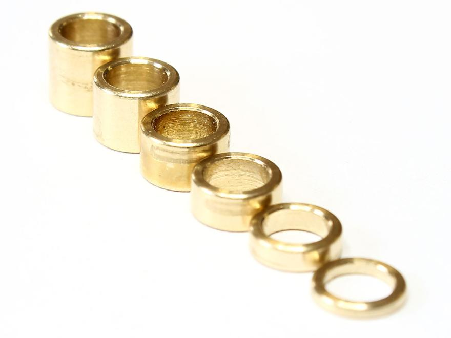 Tuning ring set for oboe, 6 rings, 1-6 mm