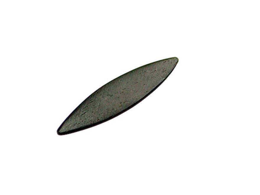 Schabezunge für Oboenrohre: Holz, flach, 2 Spitzen