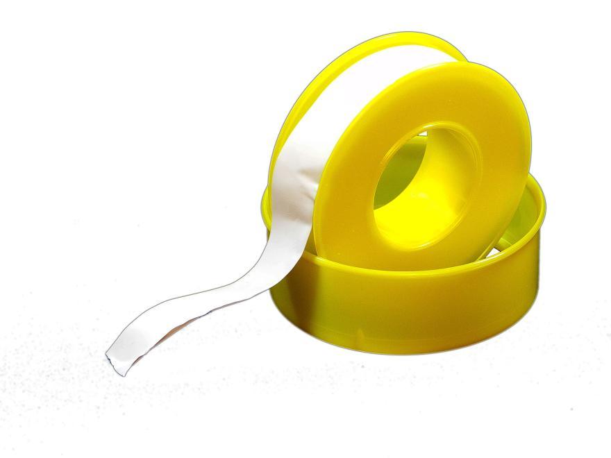 Teflonband: 0.1 mm