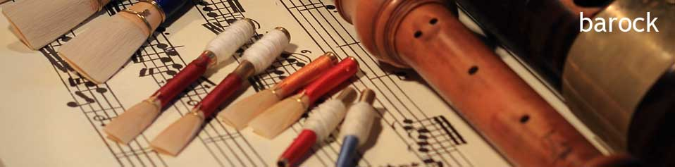 Reed Making for Baroque Oboe & Baroque Bassoon