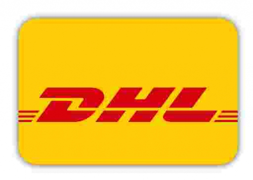 We ship with DHL.